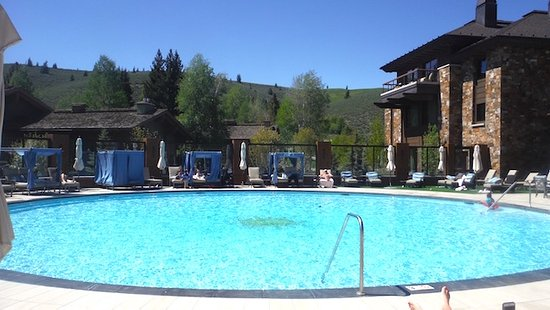 Sun Valley, ID: The main pool