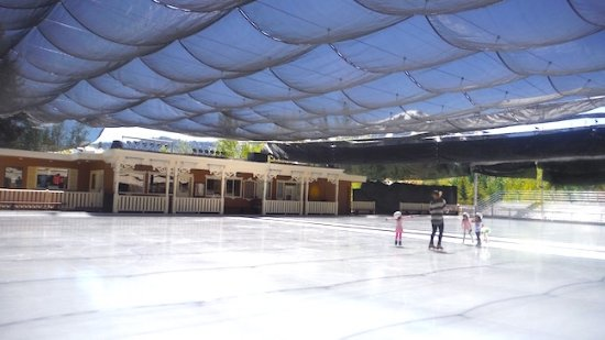 Sun Valley, ID: The skating rink
