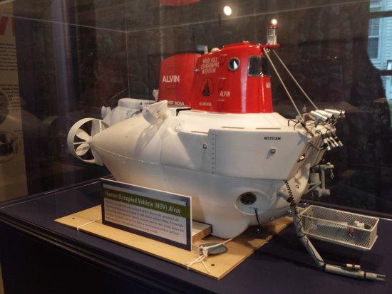 Woods Hole Oceanographic Institution: Woods Hole Oceanographic Institute exhibit