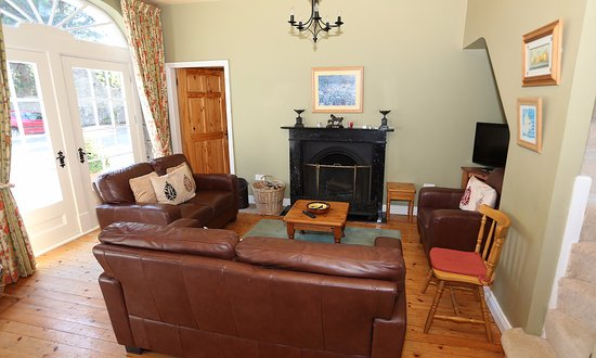 Blanchville House: Living Room Self Catering Coach House
