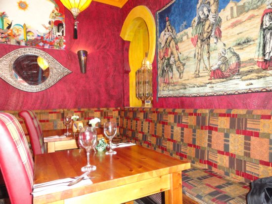The Olive Grove Moroccan And Middle Eastern Fabrics Lighting Paintings In Dining Room