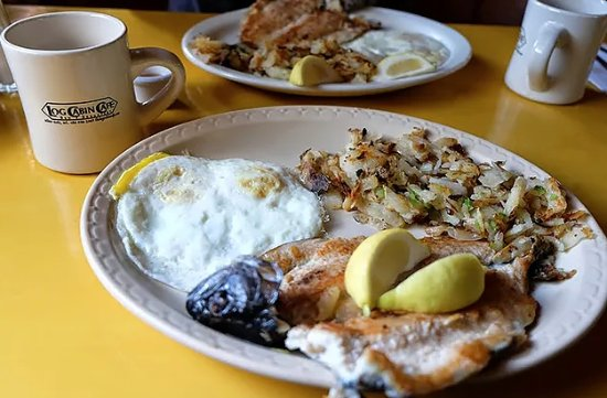 Silver Gate, MT: Fresh Trout Breakfast