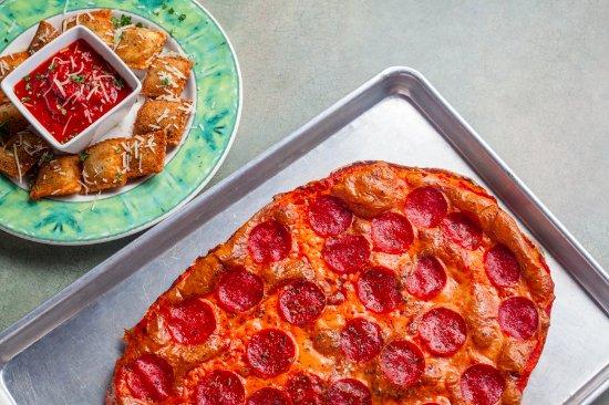 Columbia, IL: Pepperoni Pizza and Toasted Ravioli