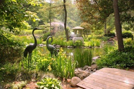 Geneva, IL: The Japanese Garden