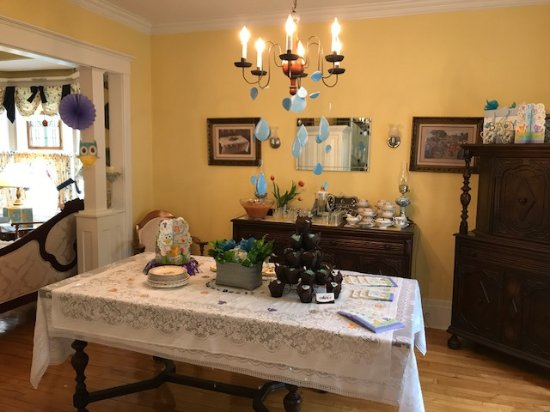 Dining Room Set For Lunch For The Baby Shower Picture Of Heart Of