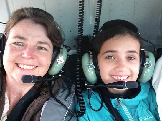 Temsco Helicopter Tours : Our Helicopter flight