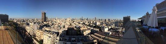 Carlton Tel Aviv: Eastern view from rooftop