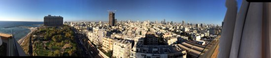 Carlton Tel Aviv: Northern view from rooftop
