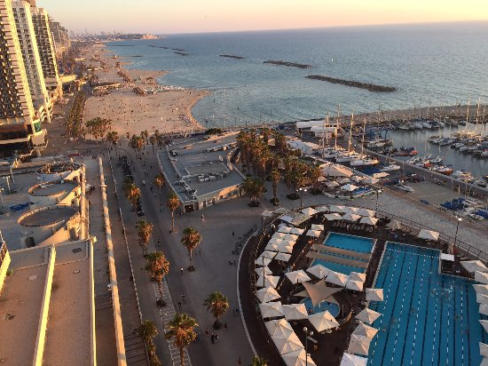 Carlton Tel Aviv: Southern view from rooftop