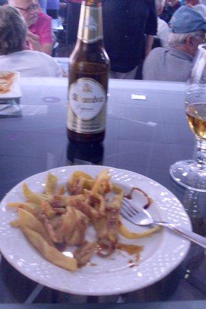 Province of Granada, Spain: fried onions