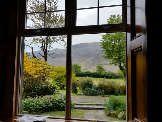 Gruline, UK: View from the breakfast room window