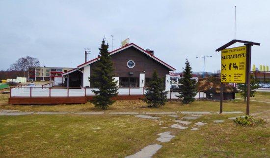 Ivalo, Finlândia: Вид ресторана с улицы