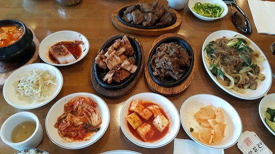 Han II Kwan Korean Restaurant: Delicious Korean BBQ and side dishes