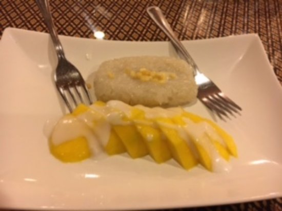 Ellicott City, MD: Mango with Sticky Rice