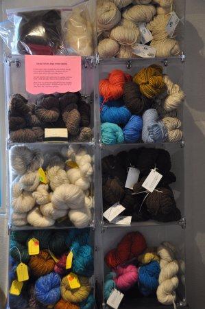 Los Lunas, NM: Sheep, llama and alpaca fiber, from gallery members