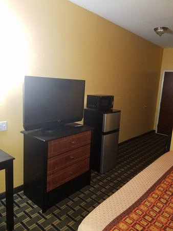 Magnolia Inn and Suites: Flat screen