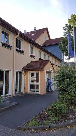 Hilden, Tyskland: Eingangsbereich