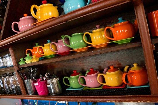Trackside Cantina : tea anyone?
