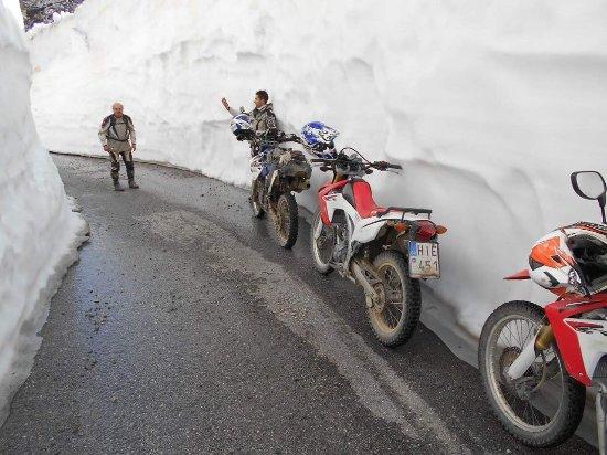 Honda Crf 250 Cc Drive Wild In Ice Motor Club Experience