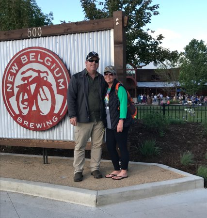 New Belgium Brewing: First visit!