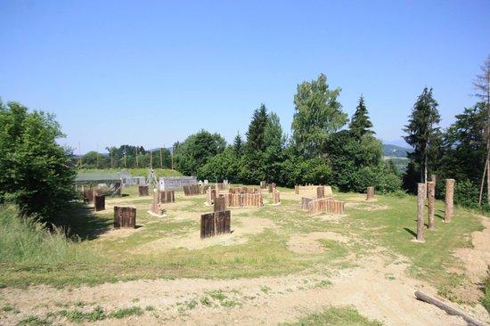 Sankt Kanzian, Østerrike: Eines der vielen Spielfelder