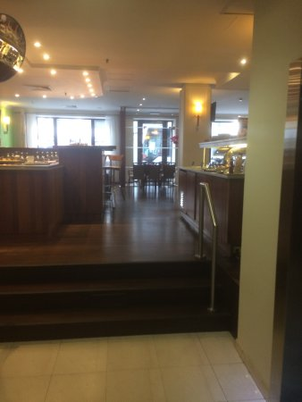 Scandic Hotel Grand Place : Hotel dining area