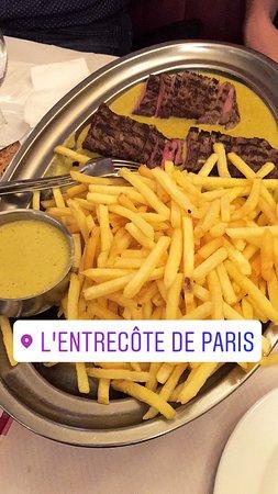 L' Entrecote de Paris : yes