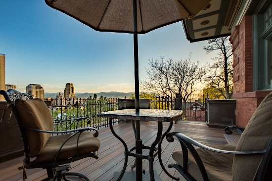Balcony - Picture of Inn on the Hill, Salt Lake City - Tripadvisor