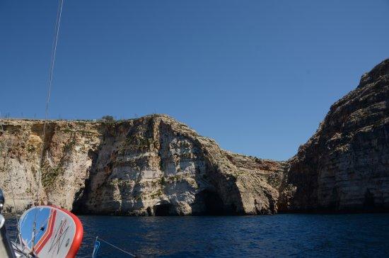 Ta' Xbiex, Malta: Amazing cliffs