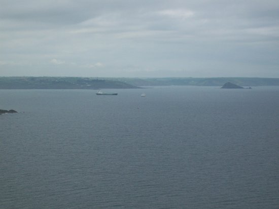 Rame, UK: Even on a grey day this place is spectacular