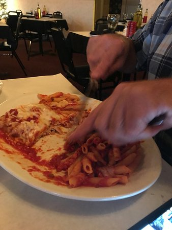 McHenry, IL: This was the Veal Parmesan. It was wonderful!!