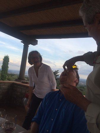 Fattoria Montechiari: The olive oil was delicious