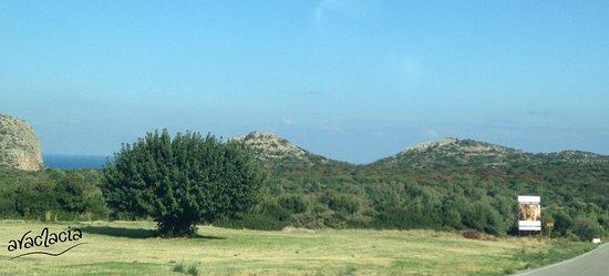 Kastania, Grecja: Τελευταίο πανοραμικό τοπίο πριν την είσοδο για το Σπήλαιο της Καστανιάς