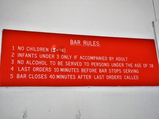 Edinburgh of the Seven Seas: bar rules (4 is the sweet spot)