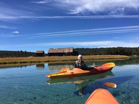 ROE! Real Oregon Experience!: Kayaking Spring Creek