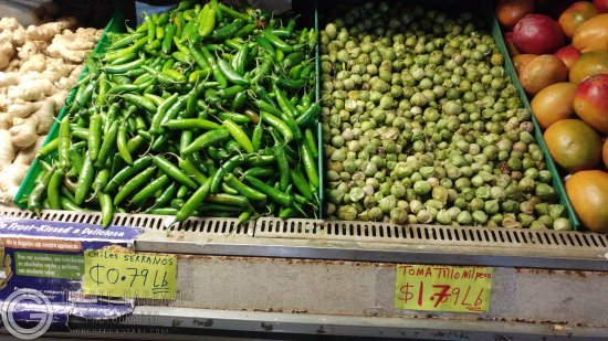 Castroville, Californien: Inside market