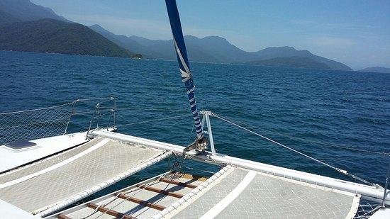 Saída de Mangaratiba a caminho da Ilha Grande com paradas em Lopes Mendes, Abraão e Lagoa Azul