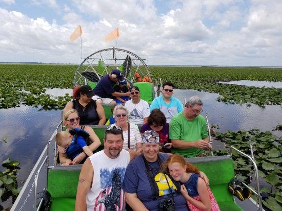 Airboat Tours Florida Tampa