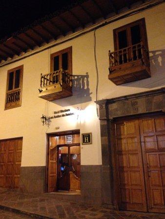 Hotel Los Andes de América: Fachada