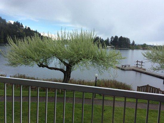 The Inn on Long Lake: Balcony