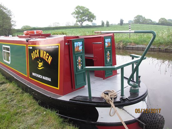 Whitchurch Marina: moored for the night