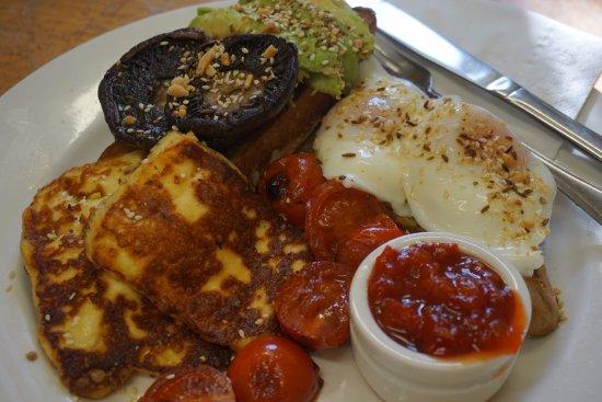 Evandale, Avustralya: Vegetarian breakfast