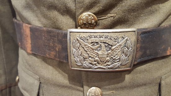 Norfolk, CT: Belt Buckle