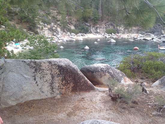 Incline Village, NV: Secret Cove Beach, Lake Tahoem Nevada