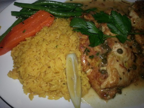 Cranston, RI: Chicken with Risotto