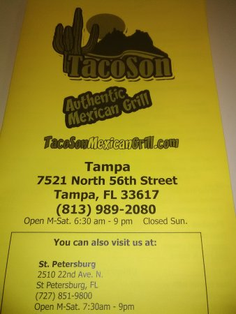 TacoSon Authentic Mexican Grill: IMG_20170608_130211_large.jpg