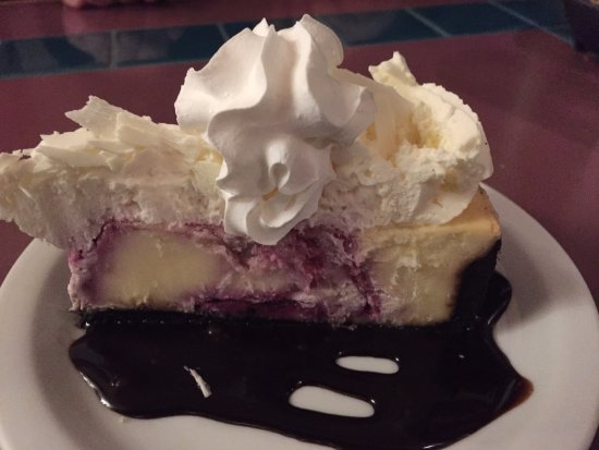 Sumner, WA: blueberry cheesecake
