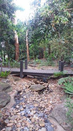 Concord, Avustralya: Stream infront of Memorial