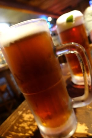 Colton's Steak House & Grill: 22 oz beer