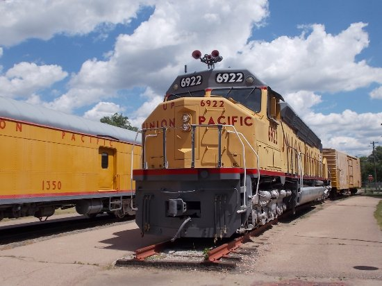 North Platte, Nebraska: Cody Park Railroad Museum, North Platte NE.